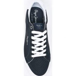 Pepe Jeans - Tenisówki Nate Summer. Szare tenisówki męskie Pepe Jeans, z gumy, na sznurówki. W wyprzedaży za 159,90 zł.