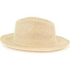 Kapelusz damski Simple beżowy (cz14104). Brązowe kapelusze damskie marki Art of Polo. Za 28,94 zł.