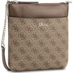 Torebka GUESS - Jacqui (SG) Mini-Bag HWSG69 65700  BRO. Brązowe listonoszki damskie marki Guess, z aplikacjami. W wyprzedaży za 249,00 zł.