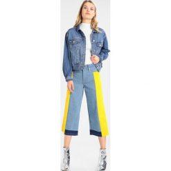 Bomberki damskie: Topshop BOXY CROP Kurtka jeansowa blue denim