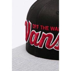 Vans - Czapka. Szare czapki z daszkiem męskie Vans, z bawełny. W wyprzedaży za 69,90 zł.