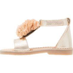Babywalker Sandały gold. Żółte sandały chłopięce marki Babywalker, z materiału. Za 309,00 zł.