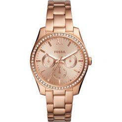 Zegarek FOSSIL - Scarlette ES4315 Rose Gold/Rose Gold. Różowe zegarki damskie marki Fossil, szklane. Za 699,00 zł.