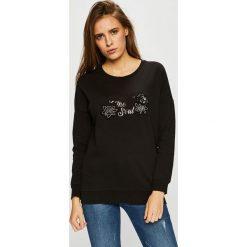 Silvian Heach - Bluza. Czarne bluzy rozpinane damskie Silvian Heach, l, z aplikacjami, z bawełny, bez kaptura. Za 299,90 zł.