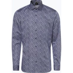 OLYMP No. Six - Koszula męska łatwa w prasowaniu, niebieski. Niebieskie koszule męskie non-iron marki OLYMP No. Six, m, paisley. Za 249,95 zł.