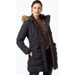 Soquesto - Damski płaszcz pikowany, niebieski. Niebieskie płaszcze damskie Soquesto, s, z futra. Za 469,95 zł.