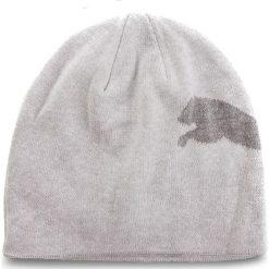 Czapka PUMA - Big Cat Beanie 052925 63 Light Gray Heather/Big Cat. Szare czapki damskie Puma, z bawełny. Za 65,00 zł.