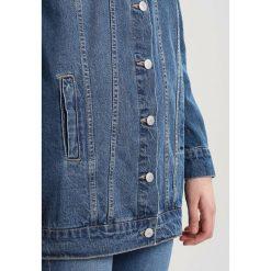 Płaszcze damskie pastelowe: Vero Moda Tall VMOLINE LONG JACKET BOO Krótki płaszcz medium blue denim