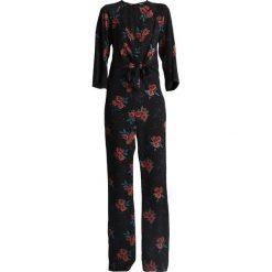 Kombinezony damskie: Fashion Union Tall PHEONIX ORIENTAL FLORAL Kombinezon black