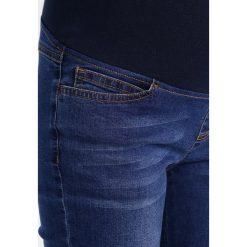 Spring Maternity CALLIOPE  Jeans Skinny Fit dark wash denim blue. Niebieskie jeansy damskie Spring Maternity. Za 299,00 zł.