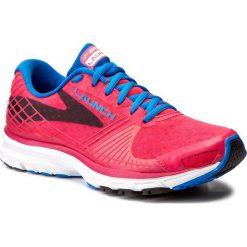 Buty BROOKS - Launch 3 120206 1B 655 Mylapink/Electricblue/Lemonade. Czerwone buty do biegania damskie Brooks, z materiału. W wyprzedaży za 249,00 zł.