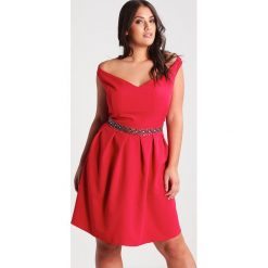 Sukienki hiszpanki: Dorothy Perkins Curve VICTORIA Sukienka koktajlowa red