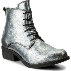 Buty zimowe damskie: Botki KAZAR - Prima 31333-01-12 Srebrny