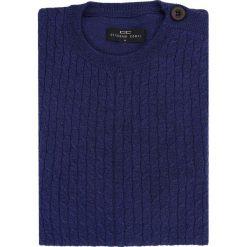 Sweter PIETRO W 15-52SR. Niebieskie swetry klasyczne męskie Giacomo Conti, m, z dzianiny. Za 229,00 zł.