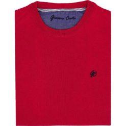 Sweter PIETRO SWTNGxx-0013SP. Czerwone swetry klasyczne męskie Giacomo Conti, m. Za 199,00 zł.
