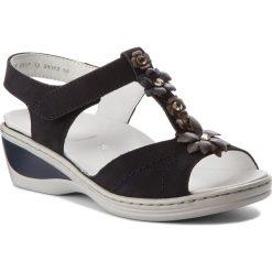 Rzymianki damskie: Sandały ARA - 12-39002 Blau/Street/Iron