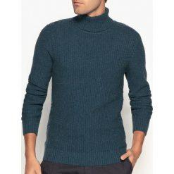 Swetry damskie: Sweter z golfem z grubej dzianiny
