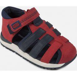 Mayoral - Sandały dziecięce 19-25. Szare sandały chłopięce Mayoral, z bawełny, z okrągłym noskiem. Za 149,90 zł.