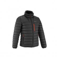 Kurtka trekkingowa Trek 900 męska. Czarne kurtki męskie puchowe marki WED'ZE, m, z materiału. Za 249,99 zł.