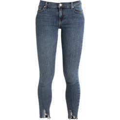 Bik Bok JP HIGHER ICON FREAKY Jeans Skinny Fit blue. Niebieskie jeansy damskie marki Bik Bok, z bawełny. W wyprzedaży za 215,20 zł.