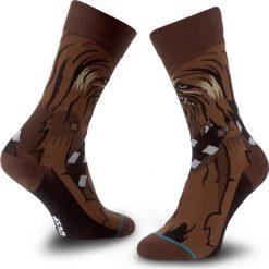 Skarpety Wysokie Unisex STANCE - Chewie M545D15CHE Brown. Czerwone skarpetki męskie marki Happy Socks, z bawełny. Za 99,00 zł.