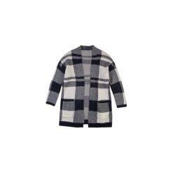 Sweter damski z kieszeniami. Szare swetry klasyczne damskie TXM. Za 49,99 zł.