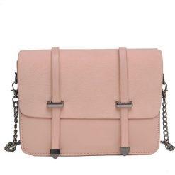MAŁA TOREBKA Z OZDOBNYMI KLAMRAMI. Różowe torebki klasyczne damskie marki Top Secret, małe. Za 64,99 zł.