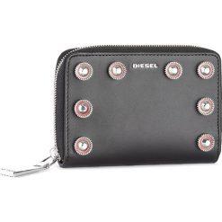 Duży Portfel Damski DIESEL - Jaddaa X04943 PR404 T8013. Czarne portfele damskie Diesel, ze skóry. W wyprzedaży za 379,00 zł.