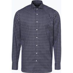 OLYMP SIGNATURE - Koszula męska łatwa w prasowaniu – Sano, niebieski. Szare koszule męskie non-iron marki S.Oliver, l, z bawełny, z włoskim kołnierzykiem, z długim rękawem. Za 449,95 zł.