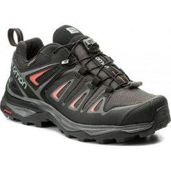 Buty trekkingowe damskie: Salomon Buty damskie X Ultra 3 GTX W Magnet/Black/Mineral Red  r. 38 (398685)