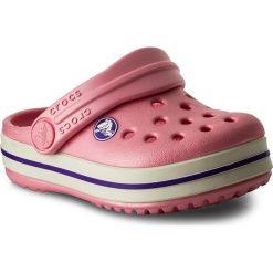 Buty dziecięce: Klapki CROCS – Crocband Clog K 204537 Peony Pink/Stucco