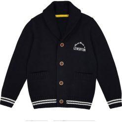 Odzież chłopięca: Rozpinany sweter z szalowym kołnierzem 3-12 lat