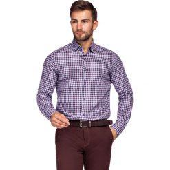 Koszula Bordowo-Niebieska w Kratę Mercury. Czerwone koszule męskie jeansowe LANCERTO, m, w kratkę. Za 299,90 zł.