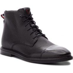 Kozaki STRELLSON - New Harley 4010002492 Black 900. Czarne buty zimowe męskie Strellson, z materiału. Za 599,00 zł.