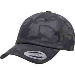 Yupoong Low Profile Cotton Twill Multicam Czapka Strapback Cap kamuflaż czarny. Czarne czapki z daszkiem damskie Yupoong. Za 79,90 zł.