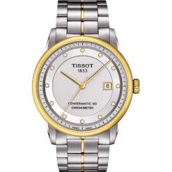 PROMOCJA ZEGAREK TISSOT T-CLASSIC T086.408.22.036.00. Białe zegarki męskie TISSOT, ze stali. W wyprzedaży za 4708,00 zł.