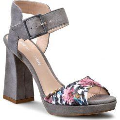 Sandały damskie: Sandały SOLO FEMME – 13302-01-E37/E87-07-00 Szr/Kw Róż