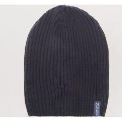 Czapka - Granatowy. Niebieskie czapki zimowe męskie marki House. Za 25,99 zł.