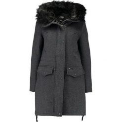 Płaszcze damskie pastelowe: khujo Płaszcz wełniany /Płaszcz klasyczny grey melange