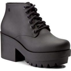 Botki MELISSA - Stellar Ad 31619  Black 01003. Czerwone buty zimowe damskie marki Melissa, z kauczuku. W wyprzedaży za 359,00 zł.