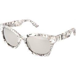 """Okulary przeciwsłoneczne damskie: Okulary przeciwsłoneczne """"0003/S RBZ/SS"""" w kolorze białym"""