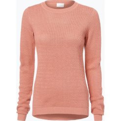 Vila - Sweter damski – Vichassa, różowy. Czerwone swetry klasyczne damskie marki Vila, m, z bawełny. Za 119,95 zł.