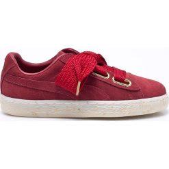 Puma - Buty Suede Heart Celebrate. Czerwone buty sportowe damskie marki Puma, z materiału. W wyprzedaży za 359,90 zł.
