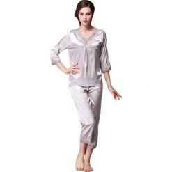 Piżamy damskie: 2-częściowa piżama w kolorze szarym