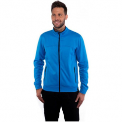 Sam73 Bluza Męska Mm 707 220 L. Niebieskie bluzy męskie rozpinane marki Oakley, na lato, z bawełny, eleganckie. Za 149,00 zł.