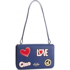 Torebka LOVE MOSCHINO - JC4083PP17LJ0750 Blu. Niebieskie torebki klasyczne damskie Love Moschino, ze skóry ekologicznej. Za 909,00 zł.