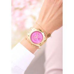 Złoto-Różowy Zegarek Never Know It. Żółte zegarki damskie other, złote. Za 49,99 zł.