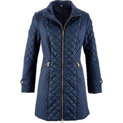 Płaszcz pikowany bonprix ciemnoniebieski. Niebieskie płaszcze damskie bonprix, eleganckie. Za 149,99 zł.