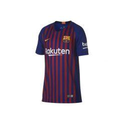 Koszulka Barcelona replika. Niebieskie t-shirty damskie Nike. Za 249,99 zł.