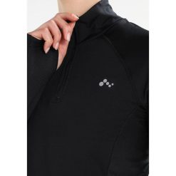 T-shirty damskie: Only Play ONPSHANI RUN BRUSHED HALF ZIP Koszulka sportowa black